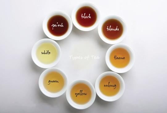 types-of-tea